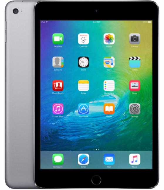 Planşet Apple iPad Mini 4 (2017) 4G 128GB Space Gray - Maxi.az