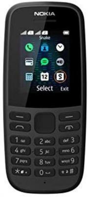 Nokia 105 Dual Black 2019