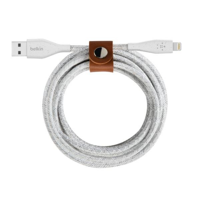 Belkin DuraTek Plus Lightning to USB-A Cable with Strap