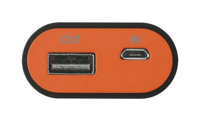 Portativ şarj cihazı (Power Bank) Trust Cinco PowerBank 5200 - black/orange (20493) - Maxi.az