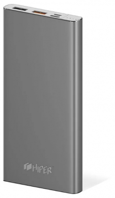 HIPER Power Bank MPX10000 Space Grey