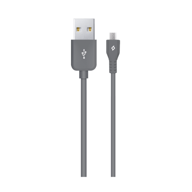 microUSB kabel Ttec Micro USB Charge/Data Cable Grey - Maxi.az