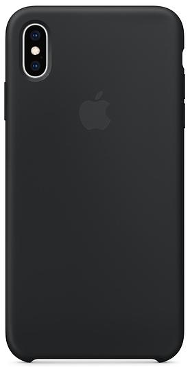 Çexol Apple Silicone Case for Iphone XS Max Black - Maxi.az
