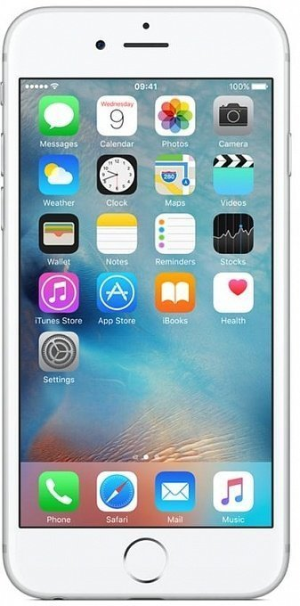 Telefon Apple iPhone 6S+ (Silver, 64GB) - Maxi.az
