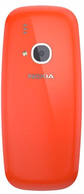 Nokia 3310 Dual Warm Red
