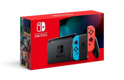 Nintendo Switch - Neon Blue and Red Joy-Con V2