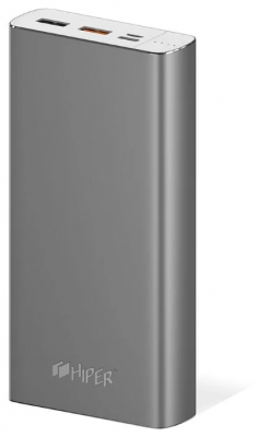 HIPER Power Bank MPX20000 Space Grey