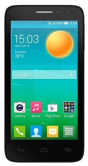 Telefon Alcatel One Touch Pop D5 Black - Maxi.az