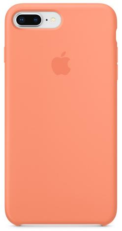 Çexol Apple Silicone Case for Iphone 7 Plus Peach - Maxi.az