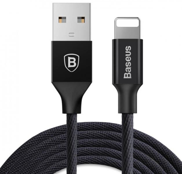 USB kabel Baseus Cabel USB Yiven Apple 2A 1.2m black - Maxi.az