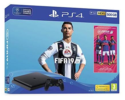 Oyun konsolu Sony PS4 Slim 500GB Black (FIFA 19 Bundle)  - Maxi.az