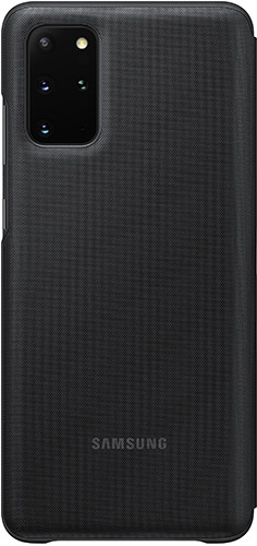 Çexol Samsung Galaxy S20 Plus Smart LED View Cover Black (EF-NG985PBEGRU) - Maxi.az