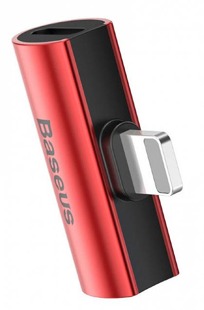 Kabel Baseus L46 Male to Female Lightning, Red - Maxi.az