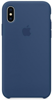 Apple Silicone Case for Iphone X Blue