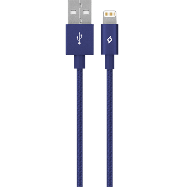Lightning kabel Ttec AlumiCable Lightning Charge/Data Cable Navy MFi - Maxi.az