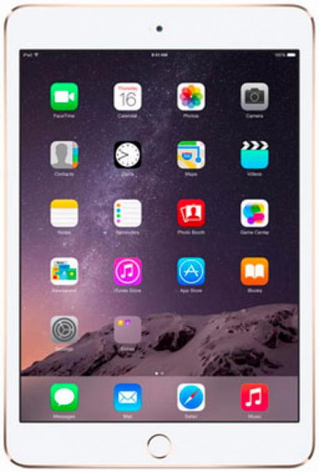 Planşet Apple iPad Mini 3 4G WiFi 16GB Gold - Maxi.az
