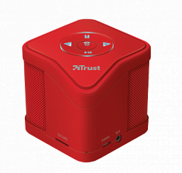 Trust Urban MUZO Wireless Speaker - red (21703)