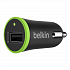Belkin USB Car Charger 2.4A Black (F8J054btBLK)