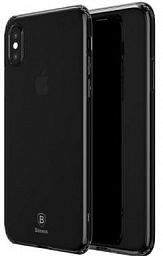 Baseus Silicone Case Iphone X Black