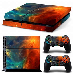 Sony PS4 Slim Vinyl Cosmic Nebular