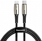 USB kabel Baseus Waterdrop Cable Type-C to iP PD 18W 1.3m Black - Maxi.az