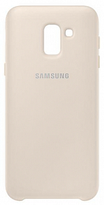 Çexol Samsung Dual Layer cover J6 (2018) Gold - Maxi.az