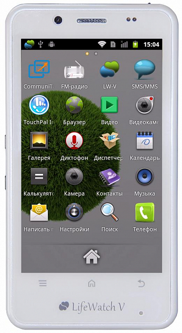 Telefon LifeWatch V White - Maxi.az
