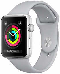 Apple Watch S3 42mm Grey Sport (MR362)