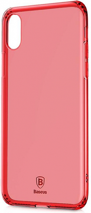 Çexol Baseus Silicone Case Iphone XS MAX Red - Maxi.az
