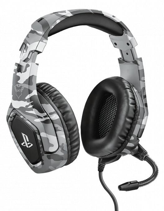Qulaqlıq Trust GXT 488 Forze-G PS4 Gaming Headset PlayStation® official licensed product - grey (23531) - Maxi.az