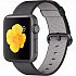 Apple Watch sport 38mm Space Gray Aluminum - Black Woven Nylon MMF62