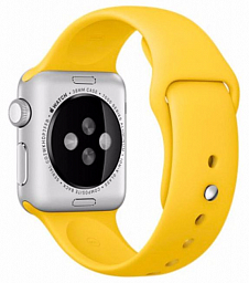 Apple Watch sport 38mm Rose Gold  Aluminum - Yellow (MMF02LL/A)