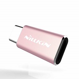 NILLKIN ADAPTER MICRO-USB TO TYPE-C Rose Gold