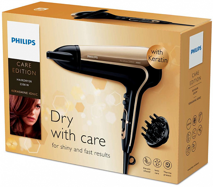 Fen Philips KeraShine HP8243/00 - Maxi.az