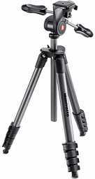 Manfrotto Compact Advanced Aluminum Tripod Black
