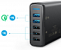 Anker Power Port 5 with Dual Quick Charge 3.0 EU Black