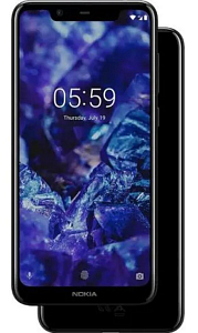 Telefon Nokia 5.1 Plus DS Black  - Maxi.az