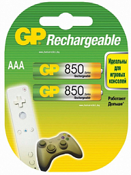 GP Rechargeable battery AAA(2) 850mAh