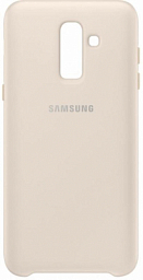 Samsung Dual Layer cover J8 (2018) Gold