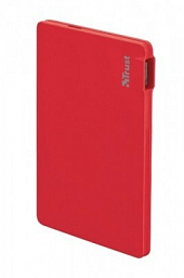 Trust PowerBank 2200T Ultra-thin - red (20913)