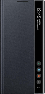Çexol Samsung Clear View Cover Note10 Black - Maxi.az
