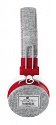 Trust Urban Fyber Headphone - grey/red (20073)