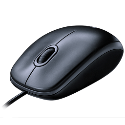 Logitech Mouse M90 Grey