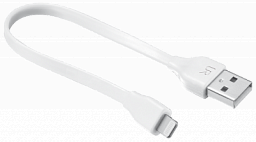 Trust Flat Lightning Cable 20cm - white (20346)