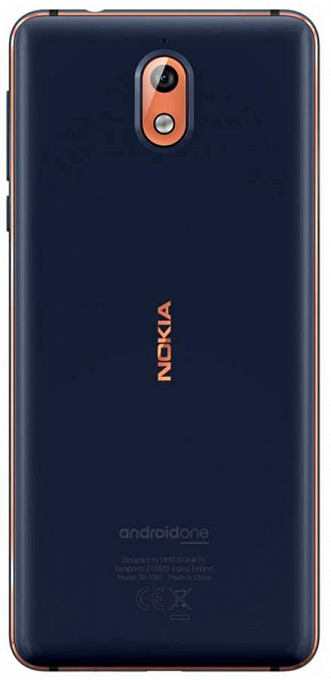 Nokia 3.1 DS Blue