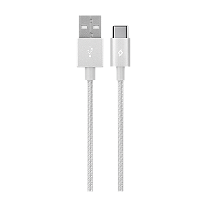 Kabel Ttec AlumiCable Type C 2.0 Charge/Data Cable Silver - Maxi.az