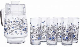 Luminarc Romantique Drink Set 7PCS N3217