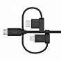 Universal kabel Belkin Universal Cable with Micro-USB, USB-C and Lightning Connectors - Maxi.az