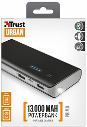 Trust Primo Powerbank 13000, Black (21689)
