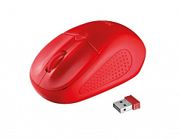 Trust Primo Wireless Mouse - red (20787)